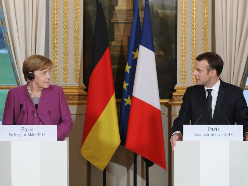 France and Germany strengthen ties to bolster EU