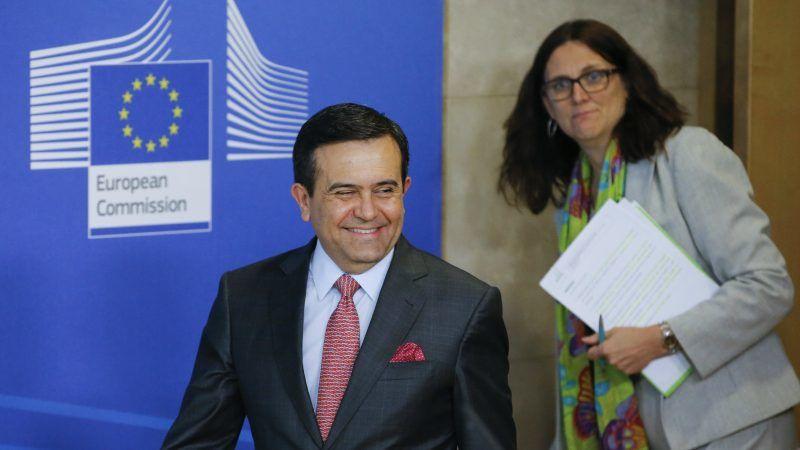 Eu Mexico Reach Agreement In Principle On Free Trade Deal