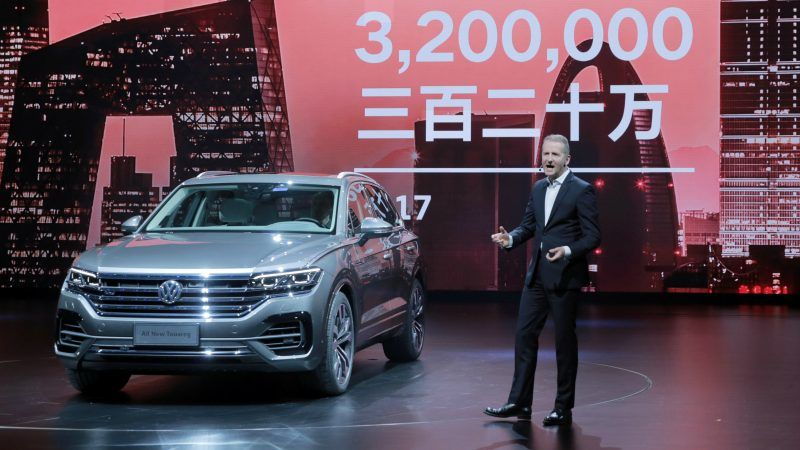 Volkswagen Makes 15bn Bet On Electric Cars In China Euractiv Com