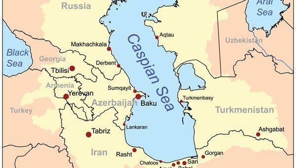 caspian sea on europe map Turkmenistan to tap into Southern Gas Corridor – EURACTIV.com