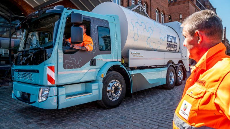 Truck industry braces for their first CO2 limits in Europe