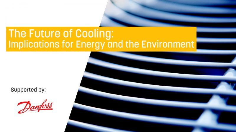 Future of Cooling: Implications for Energy and the Environment