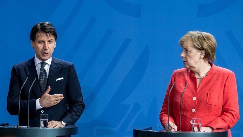 Merkel, Macron agree on new eurozone budget