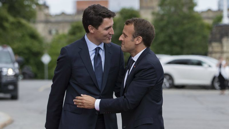 Macron Trudeau Support Strong Multilateralism Ahead Of G7 Summit Euractiv Com