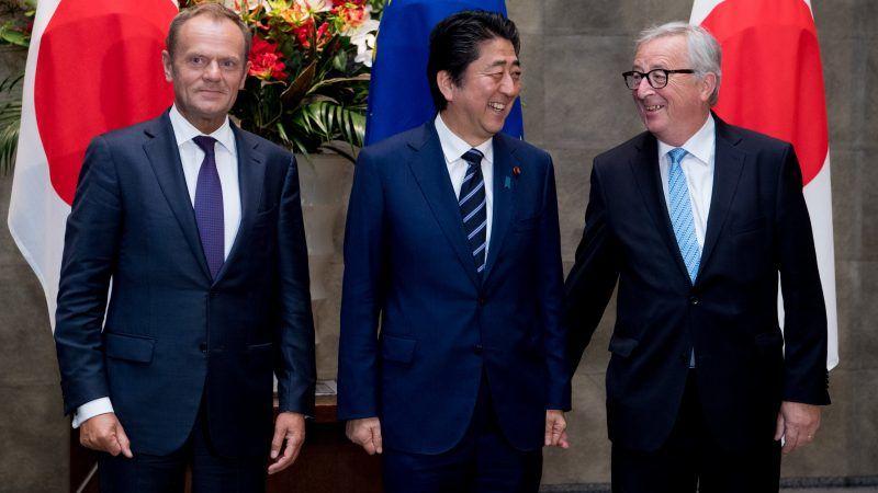 Trump presses Japan to reject EU demands on WTO reform