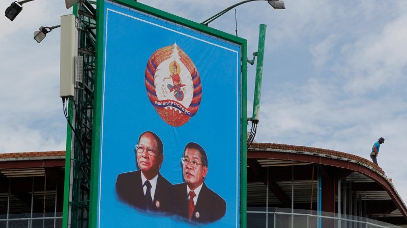 Cambodia ruling party claims 'huge victory' in vote ...