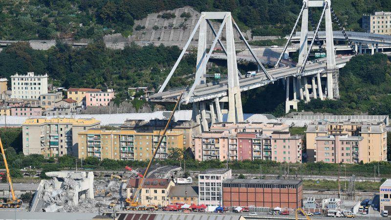 Absurd' Genoa bridge collapse triggers nationalisation row