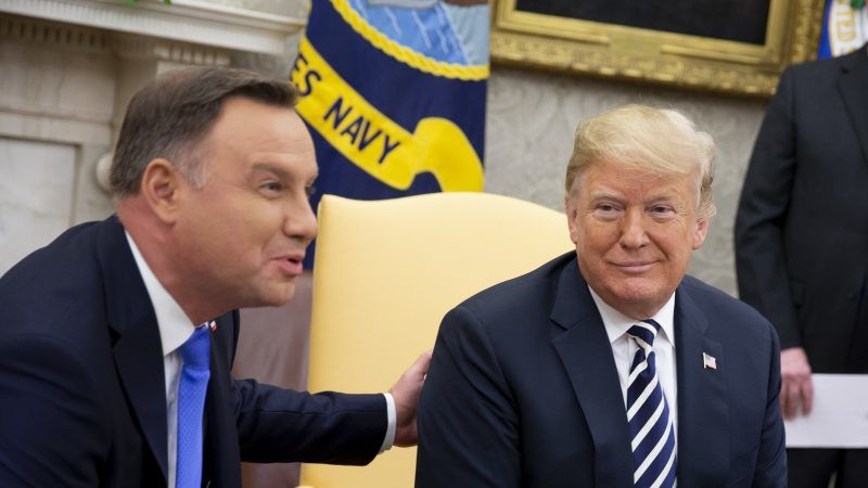 'Fort Trump'? Polish President urges U.S. to consider opening base