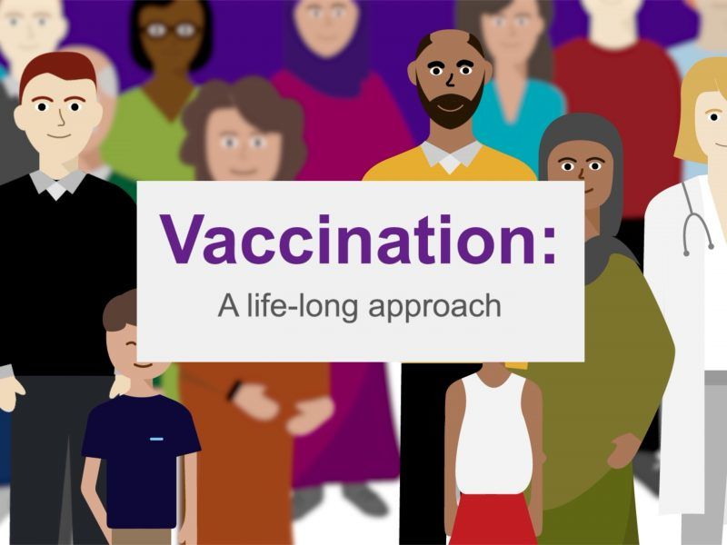 Vaccination: a life-long approach