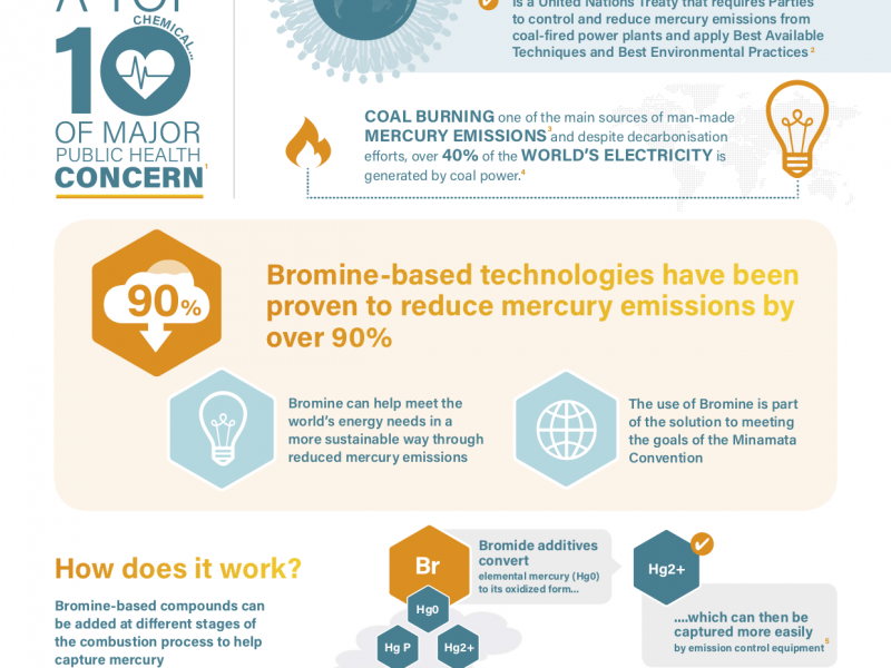 The role of Bromine in Reducing Mercury Emissions