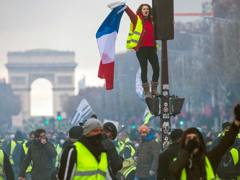 France reopens carbon tax debate that fuelled 'yellow vest