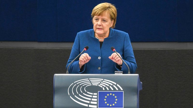 In Strasbourg Merkel Brings European Army One Step Further Euractiv Com