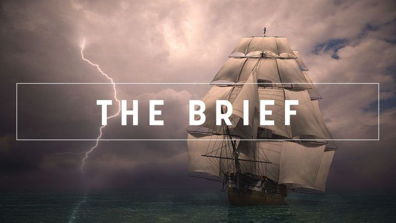 The Brief - Tangled up in blue