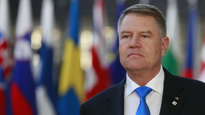 UK facing battle to scrap freedom of movement as Romanian ...  |Klaus Iohannis