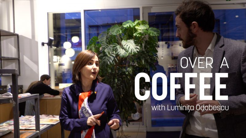 Over A Coffee with Luminița Odobescu