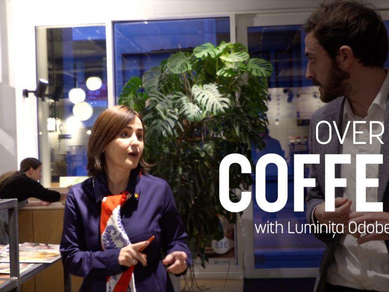 Over A Coffee with Luminița Odobescu