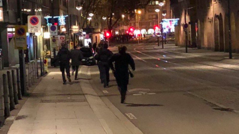Police kill man, try to ID as Strasbourg gunman