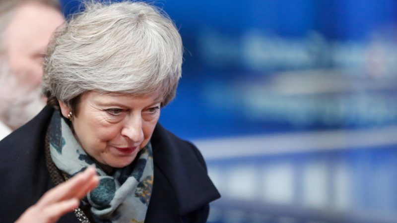 British Prime Minister Theresa May faces no-confidence vote