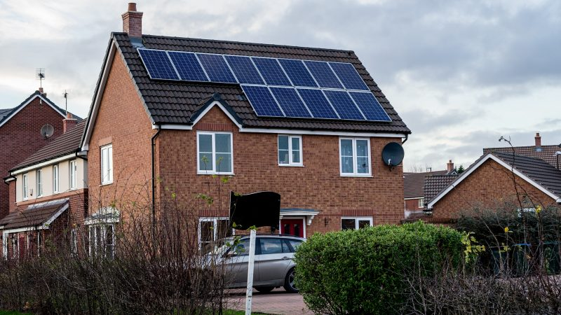 Solar households to be paid for excess power after UK