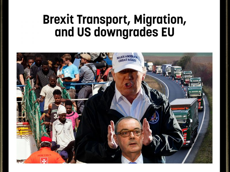 Tweets of the Week: Brexit transport, migration, and US downgrades EU