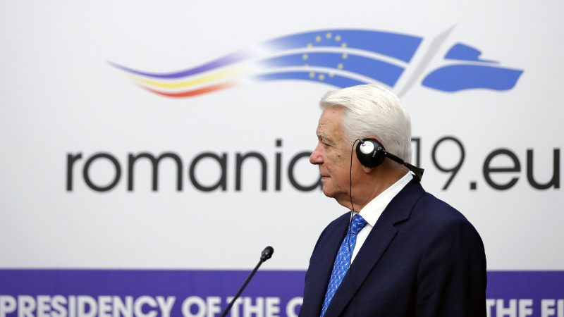 Romania leader at odds with EU, won't attend key EU event