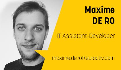 Maxime De Ro