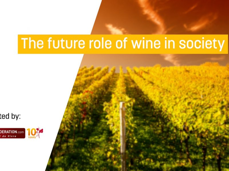 The future role of wine in society