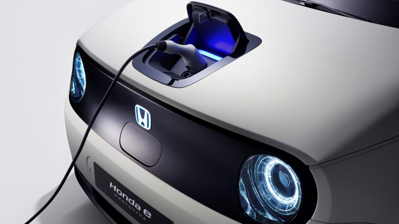 Honda Unveiled Its First Foray Into Building A Full Electric Car At Geneva International Motor Show Photo Europe