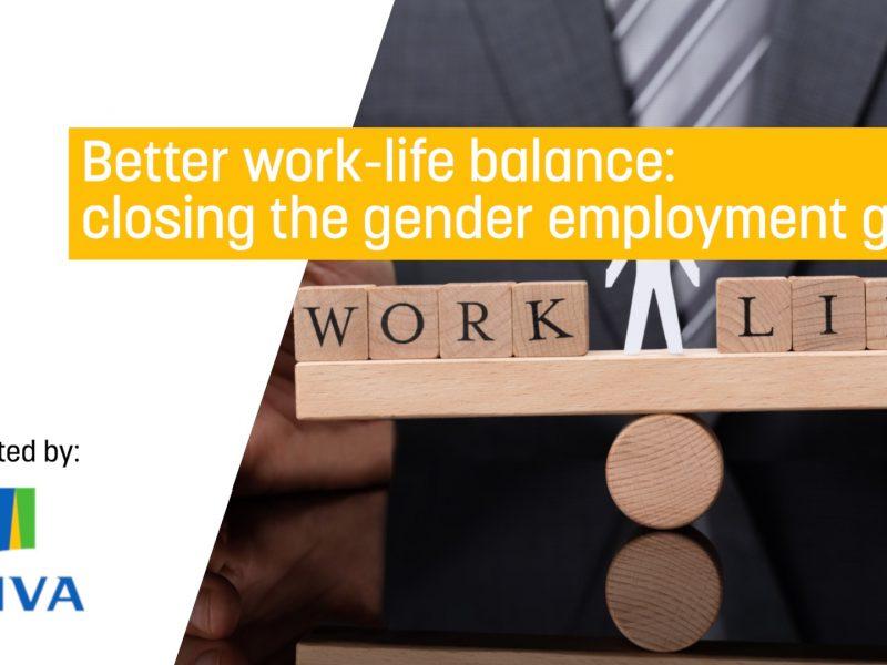 Better work-life balance: closing the gender employment gap?