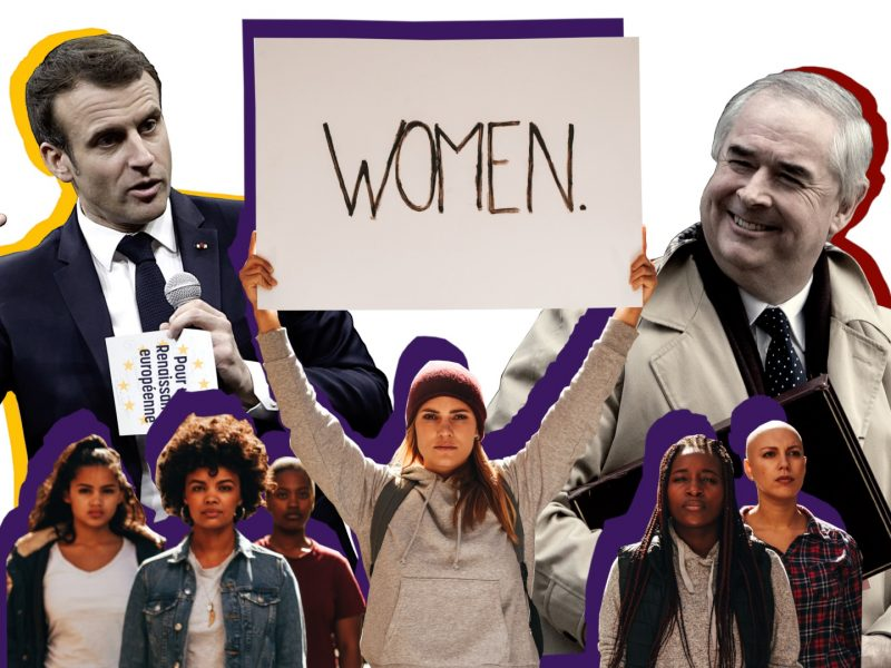 Macron, Brexit, and International Women's Day