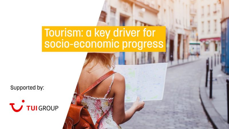 Tourism: A key driver for socio-economic progress