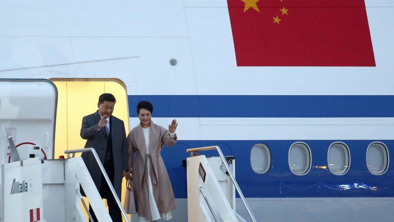 China's new Silk Road gets bumpy as Xi visits Italy