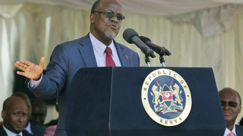 Former VP sworn in as Tanzania's new president