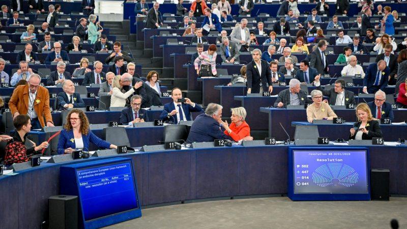 Endocrine disruptors drop the curtain on this European Parliament