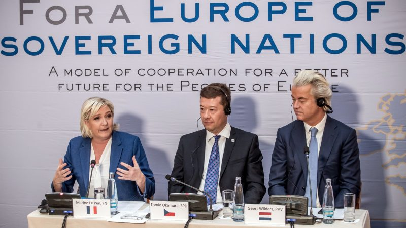 Far-right leaders gather in Prague ahead of EU vote