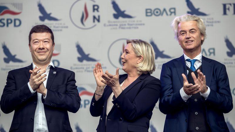 Europe's far-right touts 'new European harmony' in EU vote