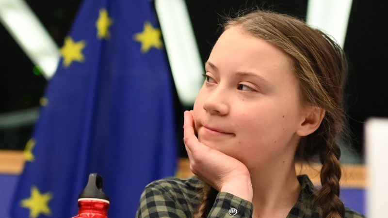 Pope meets teenage climate change activist Greta Thunberg