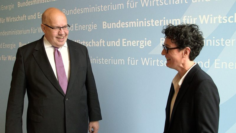 Interview with German Economic Minister Peter Altmaier
