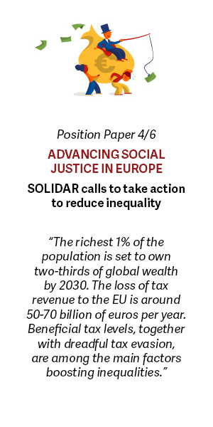 Advancing social justice in Europe