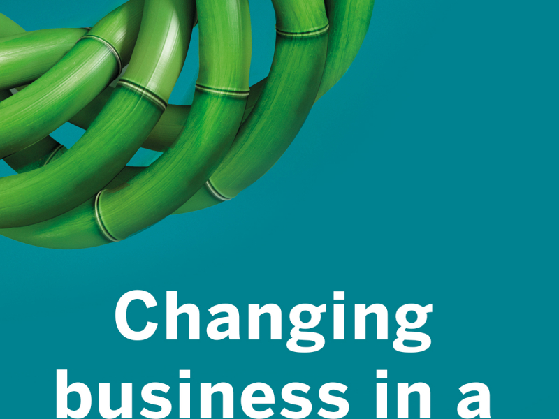Changing business in a changing world