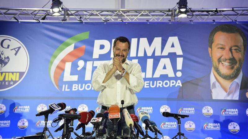 Salvini: Italy braced for three-billion euro Brussels fine