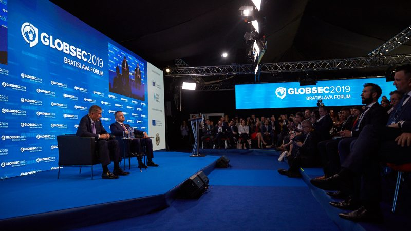 GLOBSEC Forum: 'No reason to protest, people have a great life', Babis says
