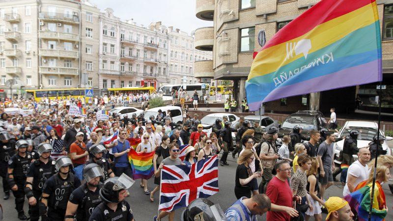 War veterans join biggest gay pride march in Ukraine – EURACTIV com