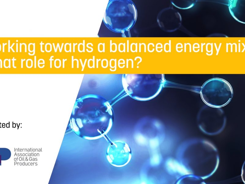 Working towards a balanced energy mix: What role for hydrogen?