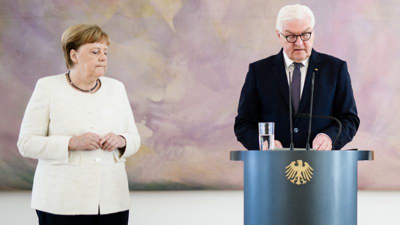 German leader Merkel says 'I'm fine' after shaking at events