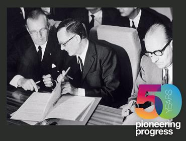 50 years pioneering progress
