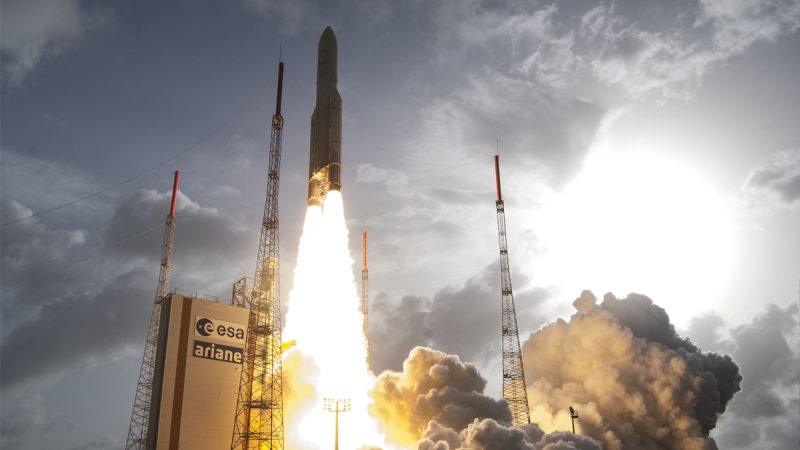 Blast-off: Europe's place in the space race