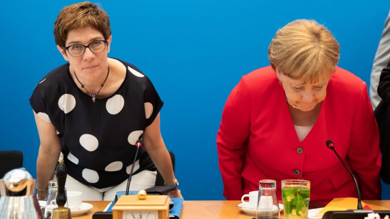 Merkel's favoured successor to become defence minister
