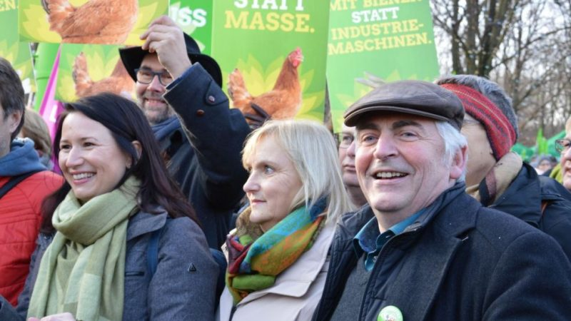 MEP: Green agriculture movement in Germany is growing fast