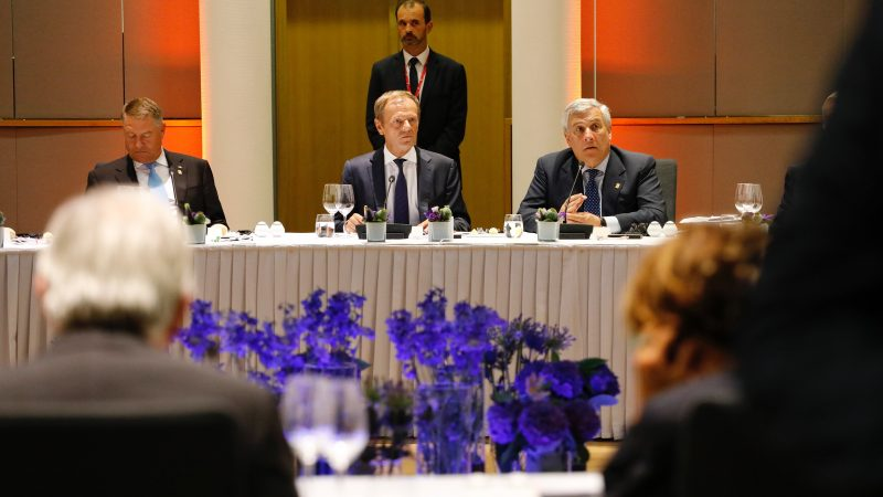 Donald Tusk chairs the summit which started in the form of a dinner